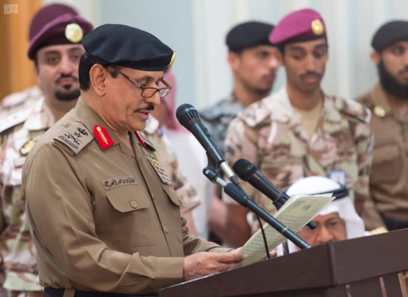 ولي العهد يلتقي قادة القطاعات العسكرية9