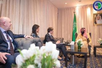 ولي العهد لمندوبي الدول دائمة العضوية: على مجلس الأمن مواجهة انتهاكات الحوثي المتكررة - المواطن
