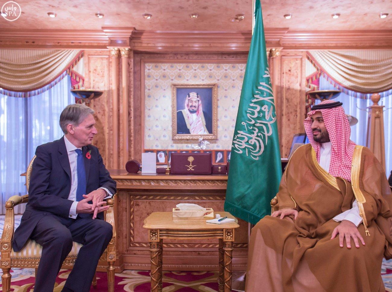 #ولي_ولي_العهد يبحث مع وزير خارجية بريطانيا مستجدات الشرق الأوسط - المواطن