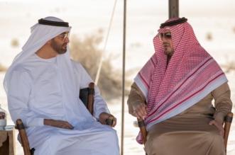 الأمير عبدالعزيز بن سعود بن نايف ومحمد بن زايد يبحثان تعزيز العلاقات الثنائية في أبوظبي - المواطن
