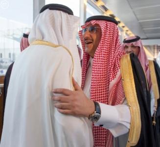 ولي عهد أبو ظبي يصل إلى جدة1