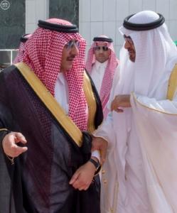 ولي عهد أبو ظبي يغادر جدة1