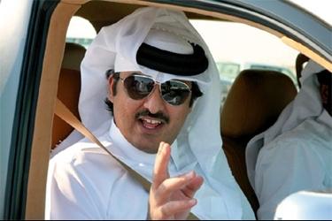 ولي عهد قطر الشيخ تميم بن حمد آل ثاني