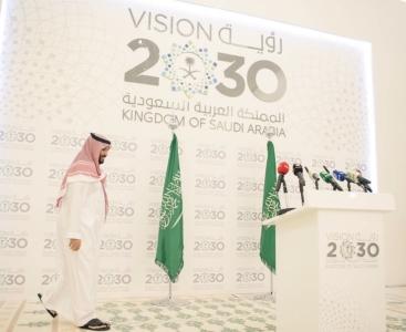 ولي ولي العهد في مؤتمر صحفي لا قلقٌ على مستقبل المملكة (1)