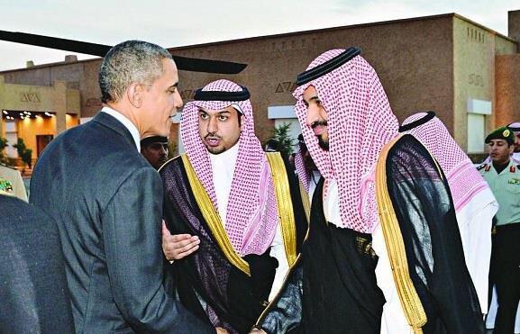 ولي ولي العهد محمد بن سلمان واوباما