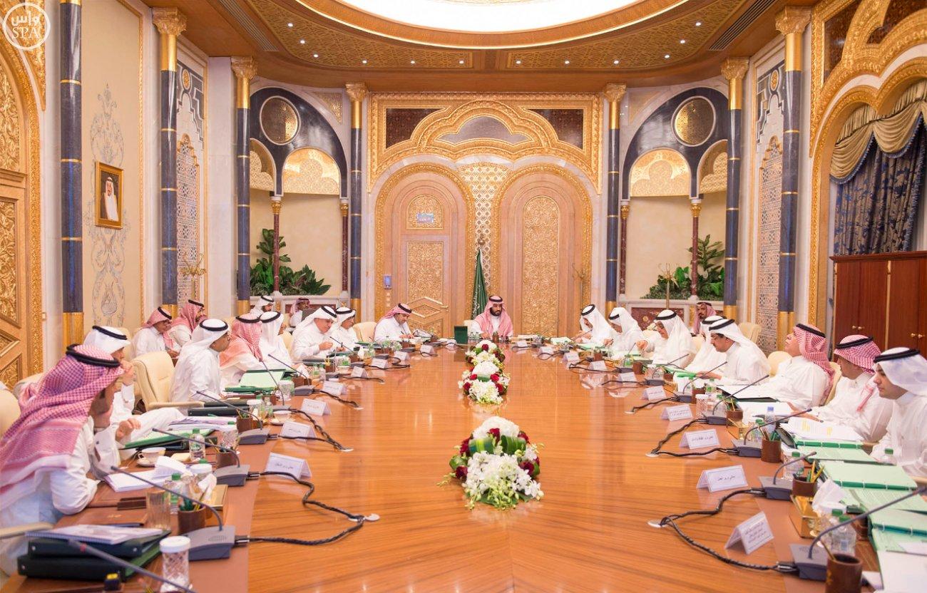 ولي ولي العهد محمد بن سلمان يرأس اجتماع مجلس الشؤون الاقتصادية والتنمية (2)