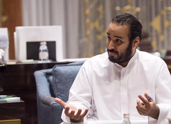Mohammed Bin Salman, Saudi Deputy Crown Prince, gestures during an interview in Riyadh, Saudi Arabia, on Wednesday, March 30, 2016. Source: Saudi Arabia's Royal Court