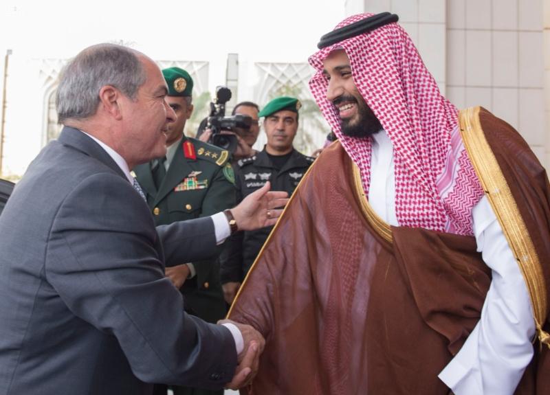 ولي ولي العهد مع رئيس وزراء الاردن4