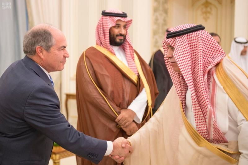 ولي ولي العهد مع رئيس وزراء الاردن5