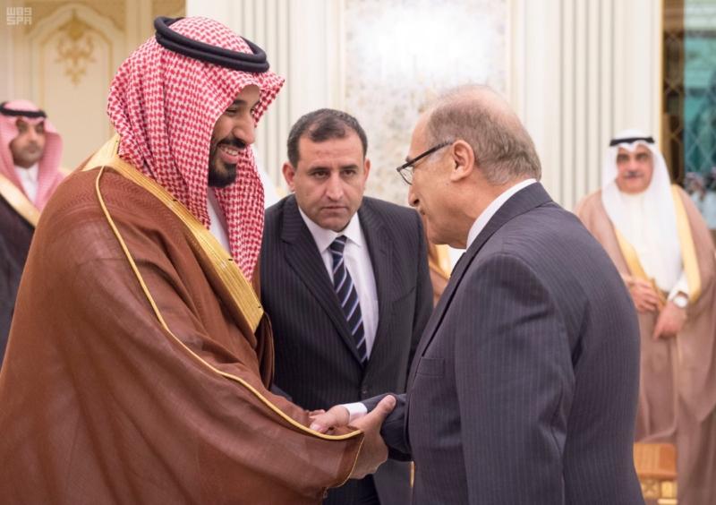 ولي ولي العهد مع رئيس وزراء الاردن6