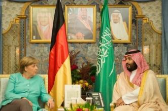 ولي ولي العهد يلتقي المستشارة الألمانية ويبحثان تحقيق الأمن والاستقرار في المنطقة - المواطن
