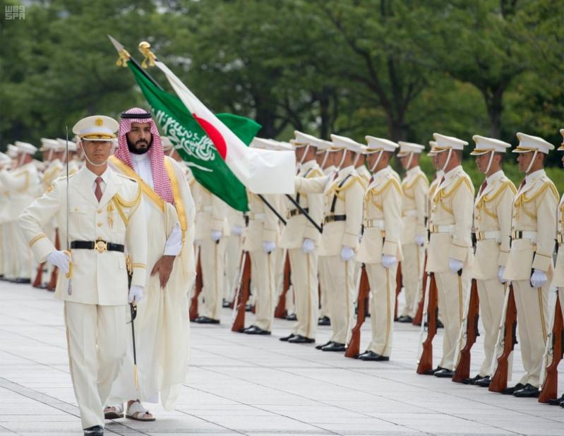 ولي ولي العهد ووزيرة دفاع اليابان 6