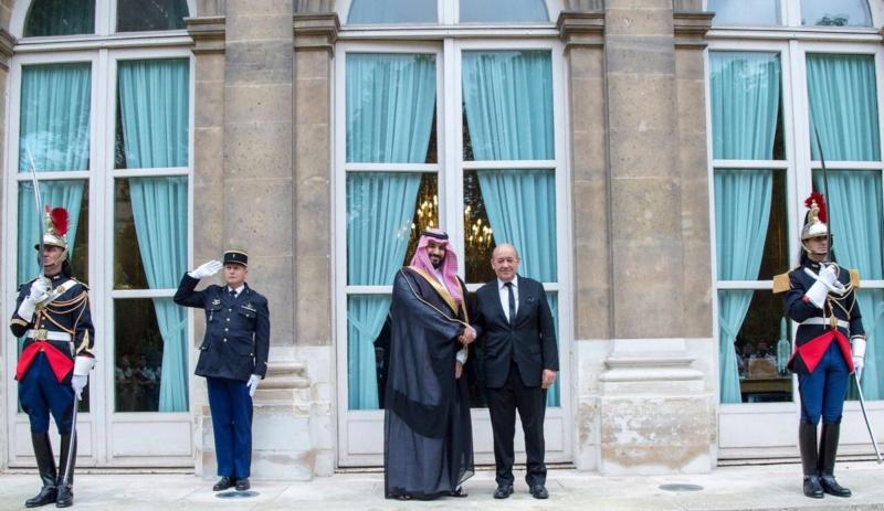 ولي ولي العهد ووزير الدفاع الفرنسي (1) 