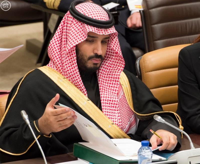 ولي ولي العهد يترأس وفد المملكة في اجتماع الناتو لمحاربة داعش2