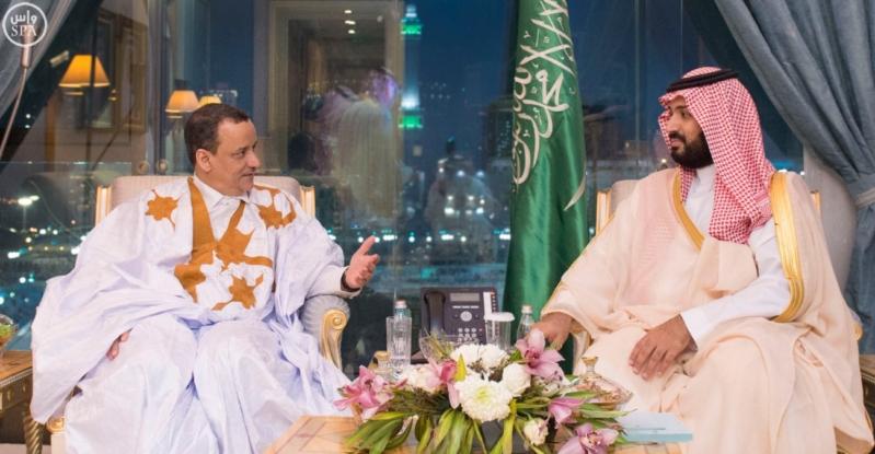 ولي ولي العهد يجتمع في مكة المكرمة مع مبعوث الأمم المتحدة لدى اليمن