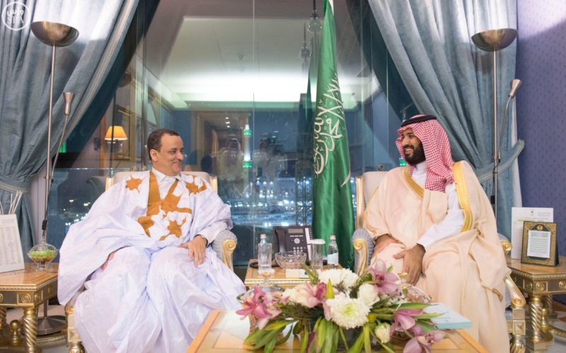 ولي ولي العهد يجتمع في مكة المكرمة مع مبعوث الأمم المتحدة لدى اليمن1