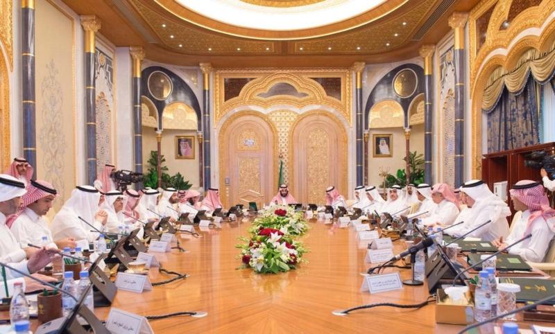ولي ولي العهد يرأس مجلس الشؤون الاقتصادية 1