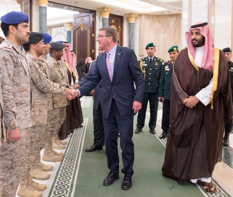 ولي ولي العهد يستقبل وزير الدفاع الامريكي (35062274) 