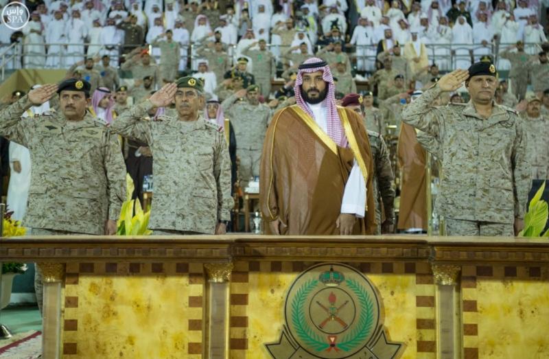 ولي ولي العهد يشهد انضمام دفعة جديدة للقوات البرية الملكية.1