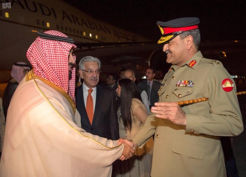 ولي ولي العهد يصل إلى باكستان 2