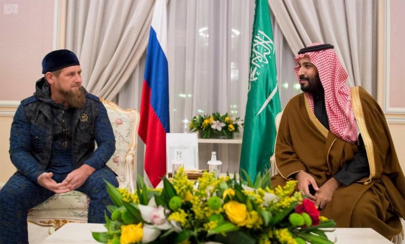 ولي ولي العهد يلتقي رئيس الشيشان (3)