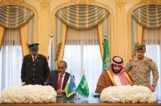 ولي ولي العهد يوقع اتفاقية تعاون عسكري مع وزير دفاع جيبوتي - المواطن