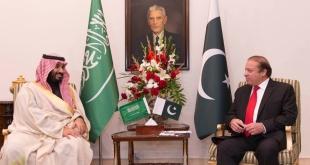 #محمد_بن_سلمان ورئيس وزراء #باكستان يبحثان التعاون المشترك
