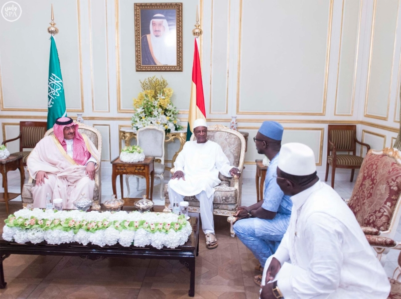 #ولي_العهد يبحث مع رئيس غينيا العلاقات الثنائية بين البلدين