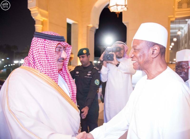 #ولي_العهد يبحث مع رئيس غينيا العلاقات الثنائية بين البلدين1