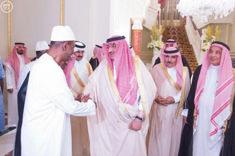 #ولي_العهد يبحث مع رئيس غينيا العلاقات الثنائية بين البلدين2