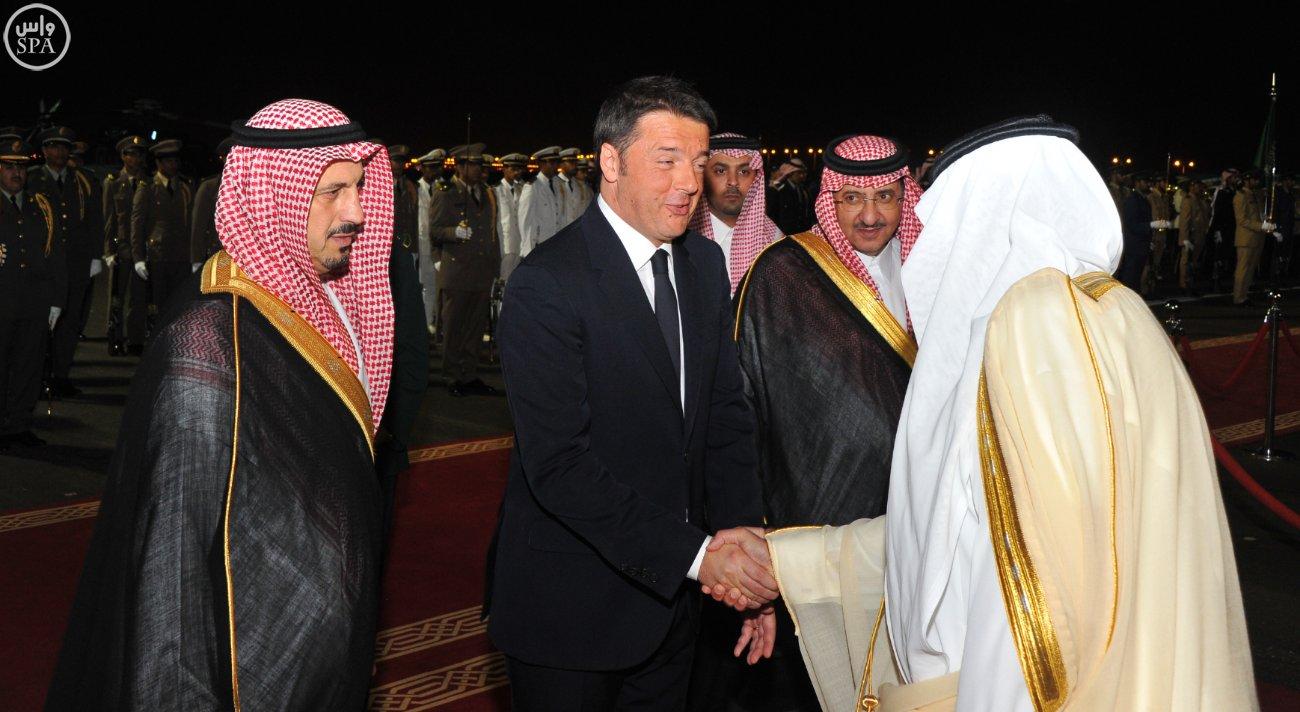 ولي_العهد يستقبل رئيس الوزراء الإيطالي (3)