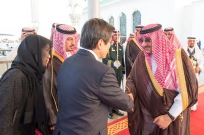 #ولي_العهد يستقبل رئيس وزراء كوريا الجنوبية في #جدة6