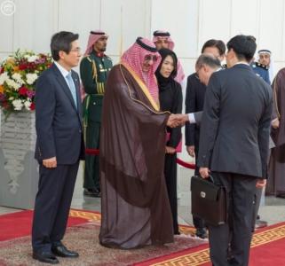 #ولي_العهد يستقبل رئيس وزراء كوريا الجنوبية في #جدة7