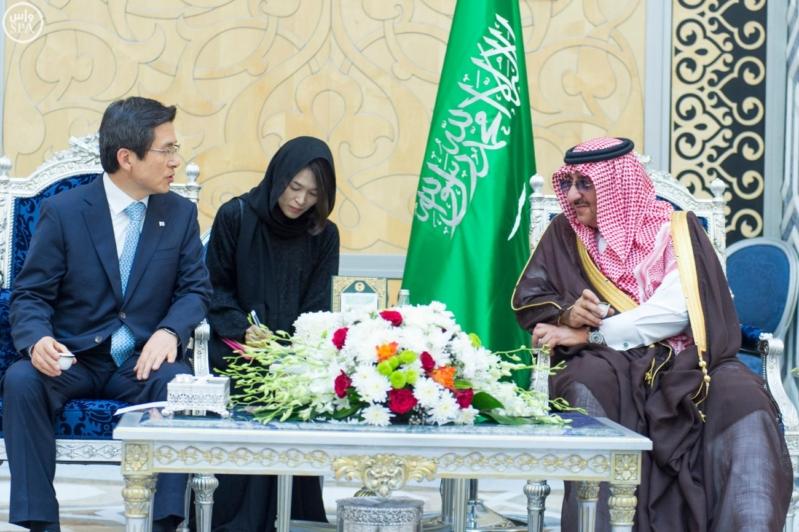 #ولي_العهد يستقبل رئيس وزراء كوريا الجنوبية في #جدة8