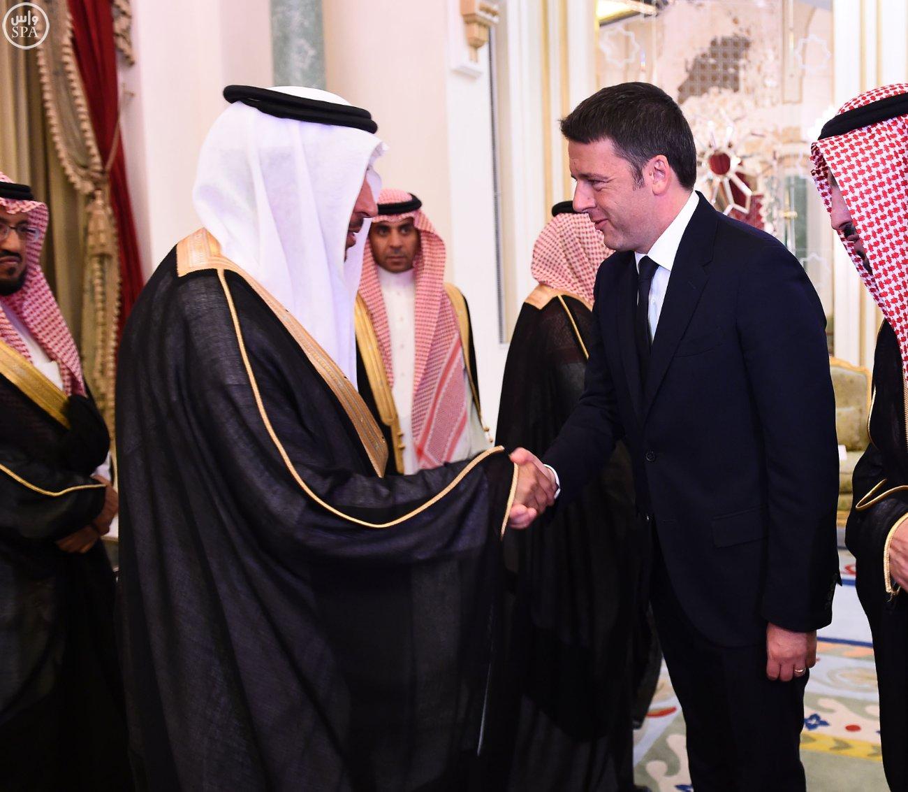 ولي_العهد يقيم مأدبة عشاء لرئيس وزراء إيطاليا (2)