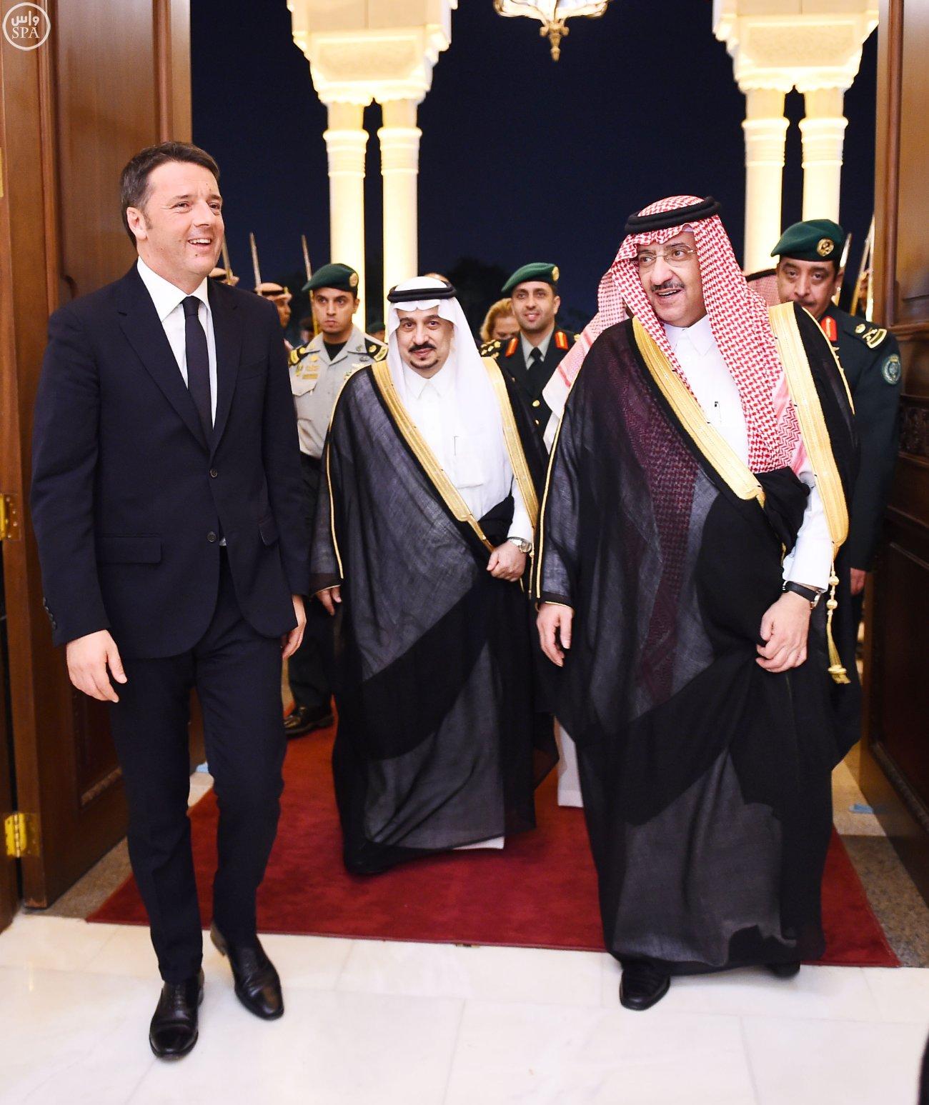 ولي_العهد يقيم مأدبة عشاء لرئيس وزراء إيطاليا (4)