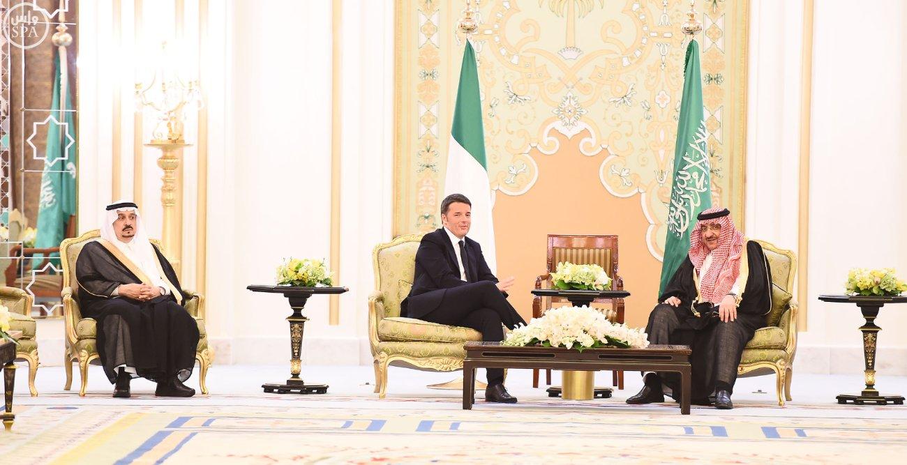 ولي_العهد يقيم مأدبة عشاء لرئيس وزراء إيطاليا (5)