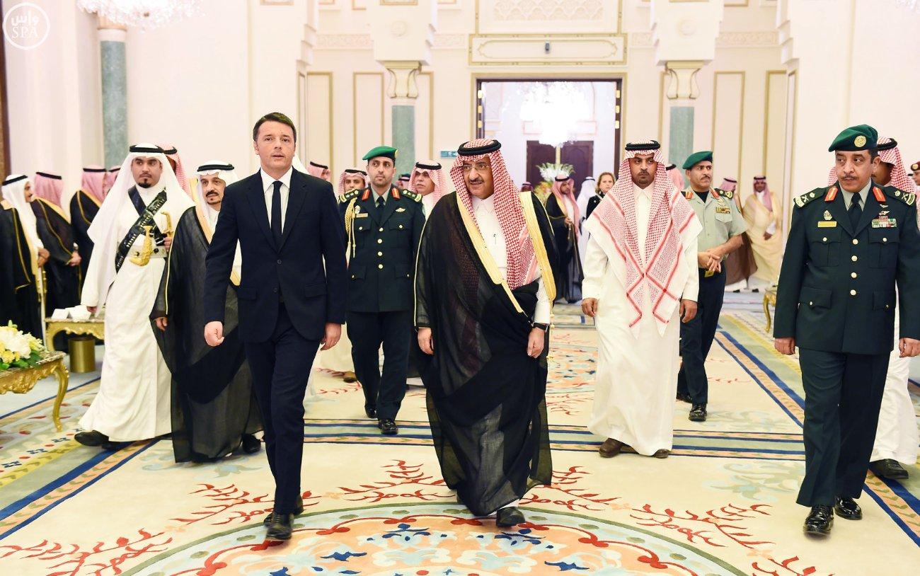 ولي_العهد يقيم مأدبة عشاء لرئيس وزراء إيطاليا (7)