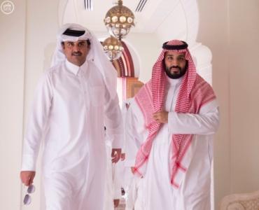 ولي_ولي_العهد وأمير قطر يبحثان العلاقات الأخوية وتطورات المنطقة (164072165) 