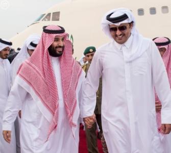 ولي_ولي_العهد وأمير قطر يبحثان العلاقات الأخوية وتطورات المنطقة (164072167) 