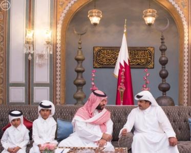 ولي_ولي_العهد وأمير قطر يبحثان العلاقات الأخوية وتطورات المنطقة (166148446) 