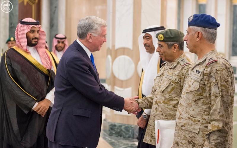 #ولي_ولي_العهد يبحث مع وزير دفاع بريطانيا جهود مكافحة الإرهاب2