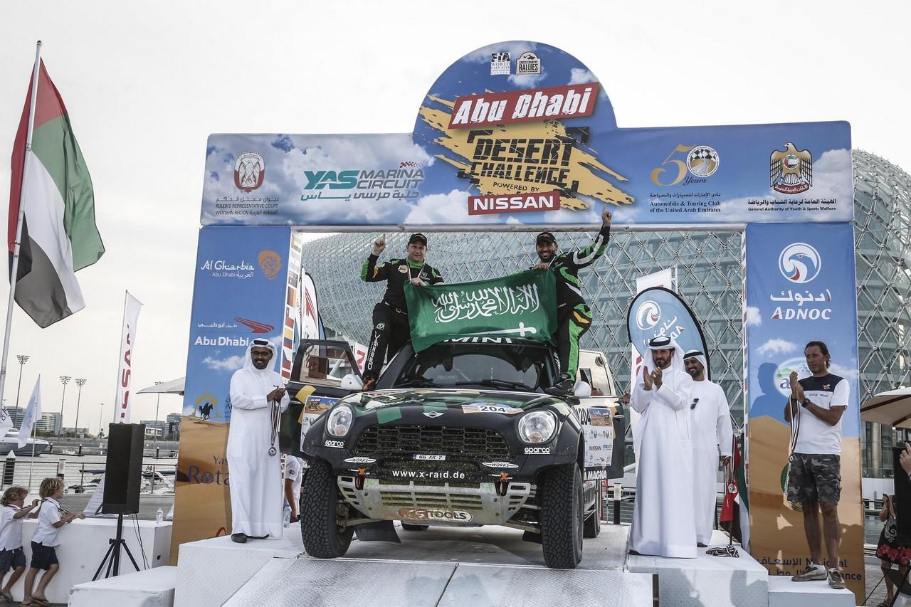 يزيد الراجحي ينتزع وصافة العالم في تحدي الصحراء بابو ظبي (4)