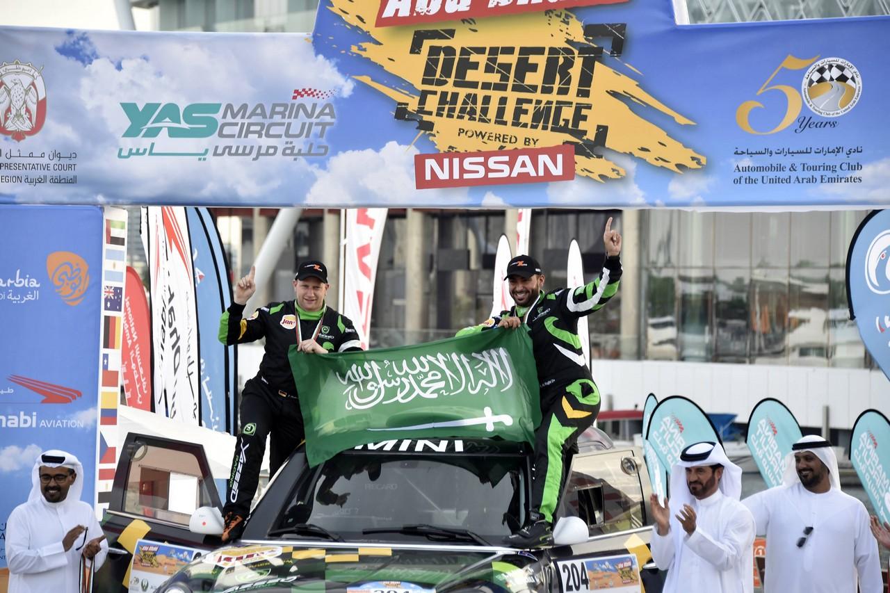 يزيد الراجحي ينتزع وصافة العالم في تحدي الصحراء بابو ظبي (5)