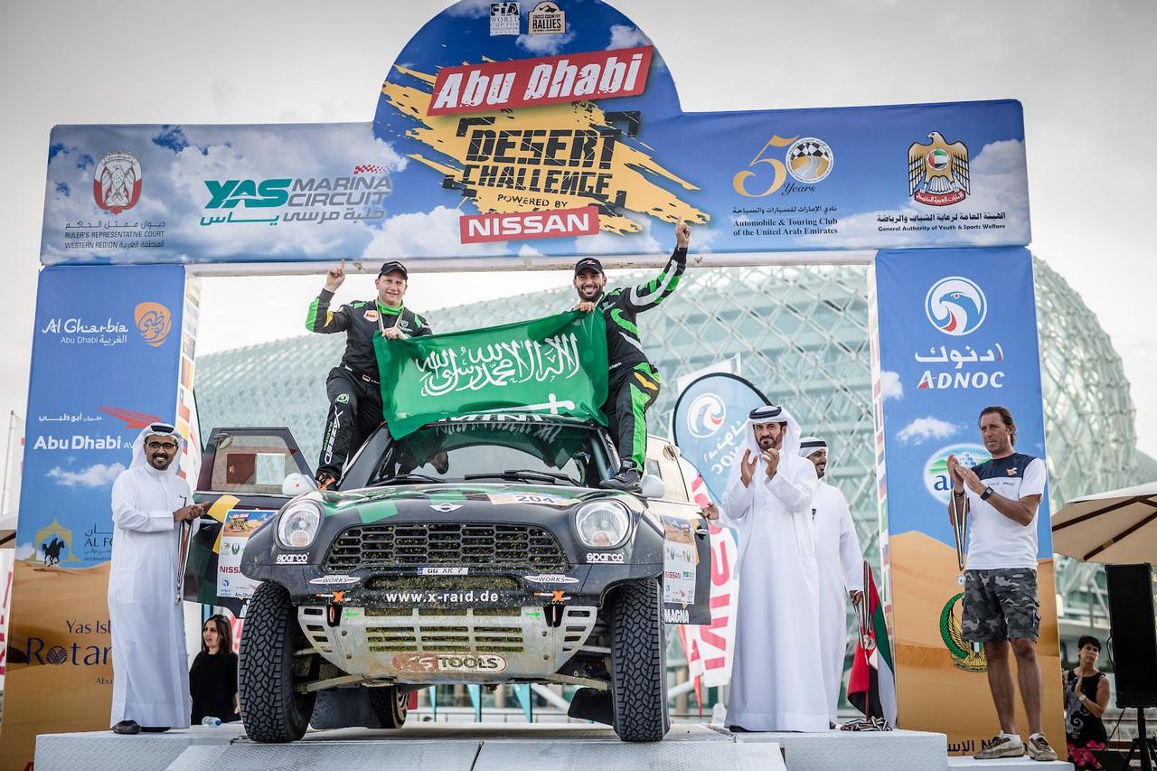 يزيد الراجحي ينتزع وصافة العالم في تحدي الصحراء بابو ظبي (9)
