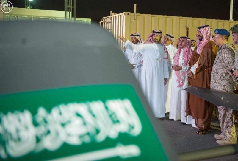 يطلع على مشروع سعودي لتصميم وإنتاج طائرة بدون طيار1