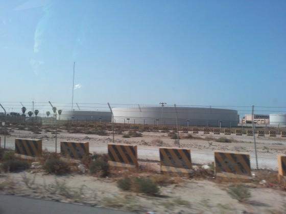 محطة لتحلية المياة تعمل بالطاقة الشمسية بمحافظة الخفجي