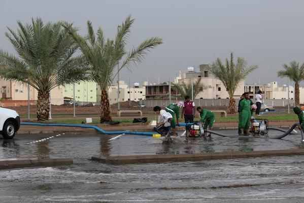  وسائل إعلام أجنبية تتحدث عن #أمطار_السعودية (2)