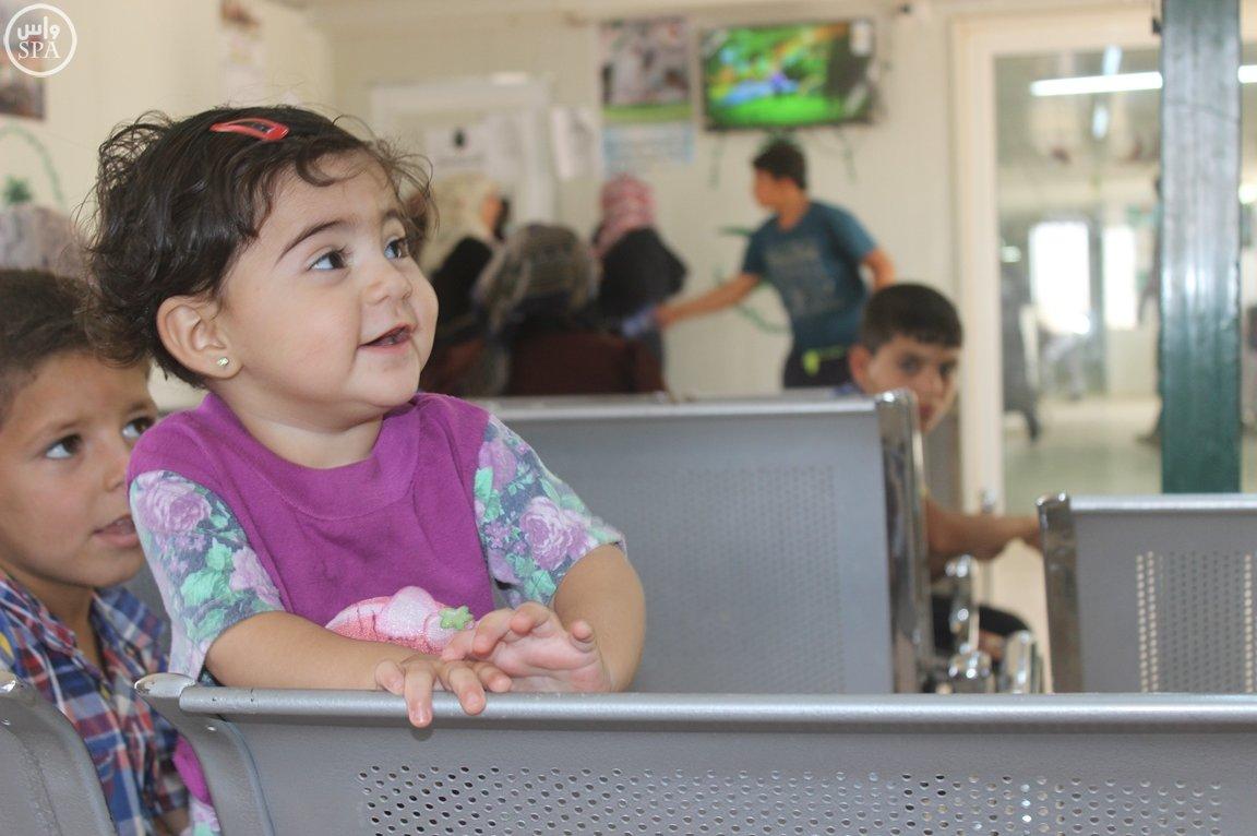 العيادات التخصصية السعودية مخيم الزعتري (1)