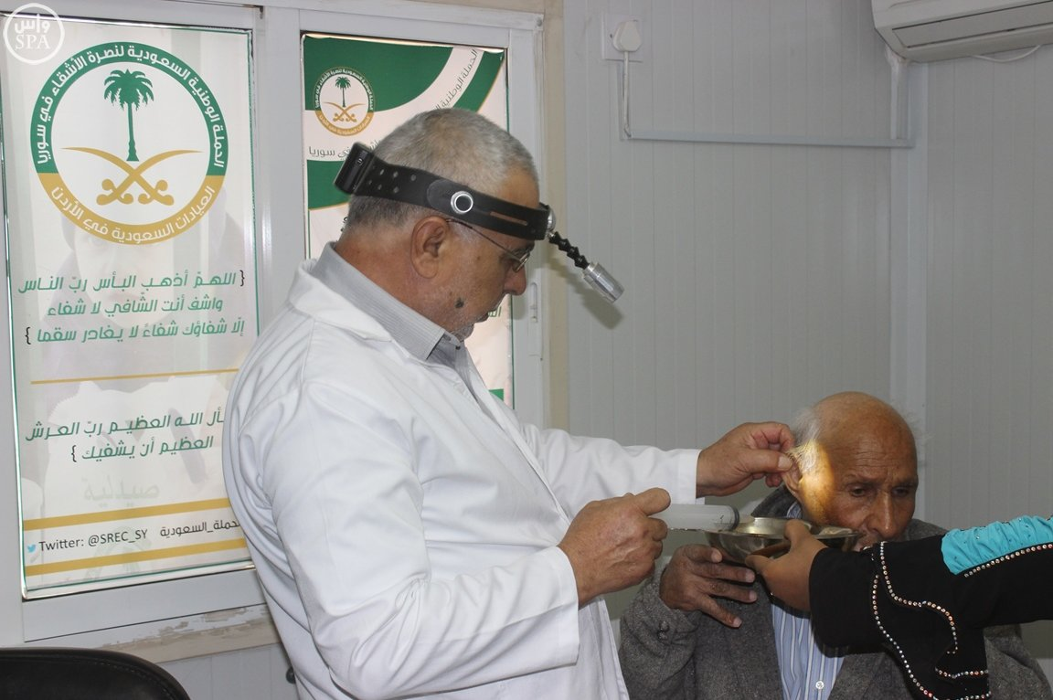 العيادات التخصصية السعودية مخيم الزعتري (2)